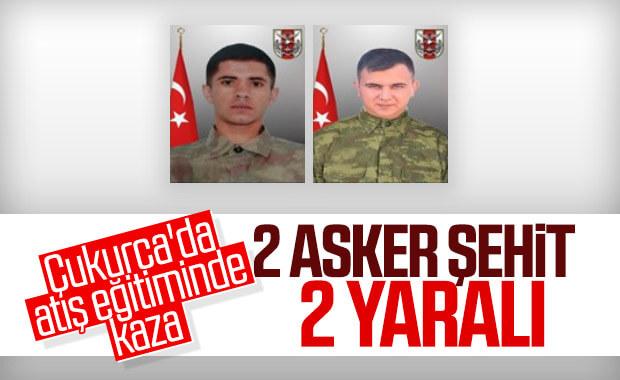 Hakkari'de eğitim kazası: 2 asker şehit