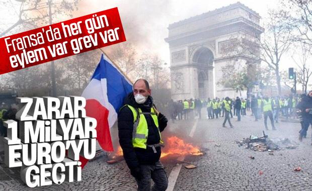 Fransa 42 gündür emeklilik reformu grevinde