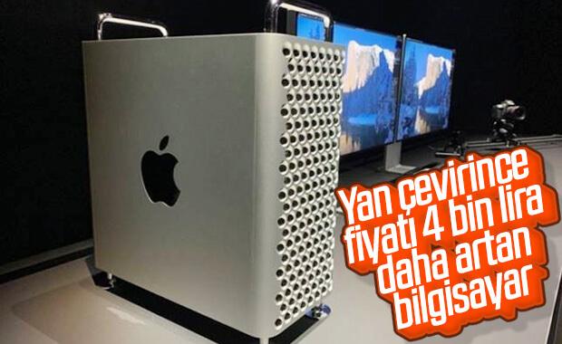 Apple, yan çevirdiği Mac Pro'yu 4 bin TL farkla satışa çıkardı
