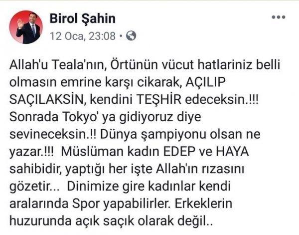 MHP'li başkanın voleybol paylaşımı Bahçeli'yi soruldu