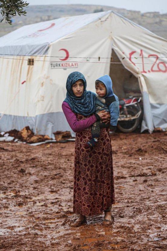 Suriyeliler için 9 kamp alanı kuruldu