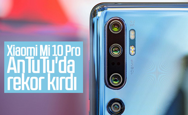 Xiaomi Mi 10 Pro, AnTuTu'da zirveye yerleşecek