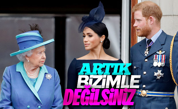 Kraliçe Elizabeth, Harry ve Meghan'ın ayrılışını onayladı