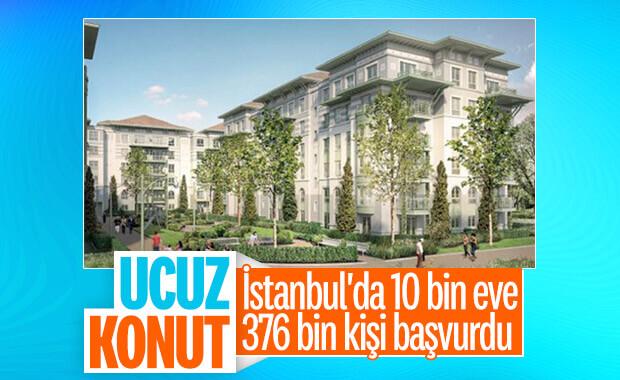 Ucuz konutta rekor başvuru İstanbul'da