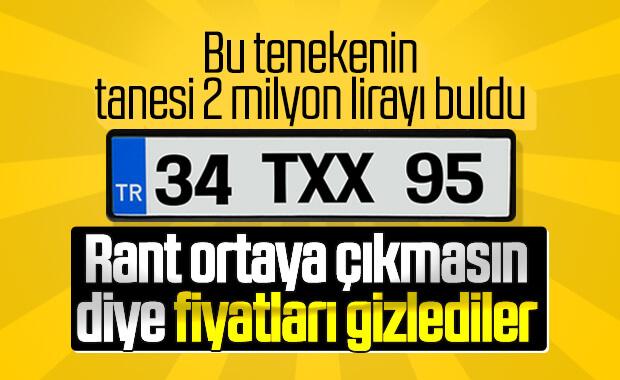 Taksi plakası fiyatları internetten kalktı