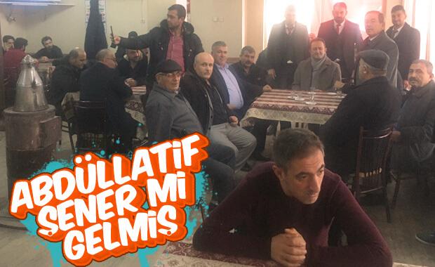 Konya'da Abdüllatif Şener'i takan yok