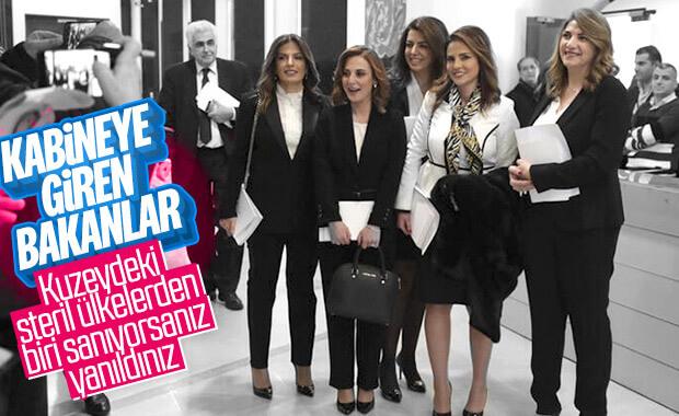 Lübnan'da kabineye kadın bakanlar katıldı