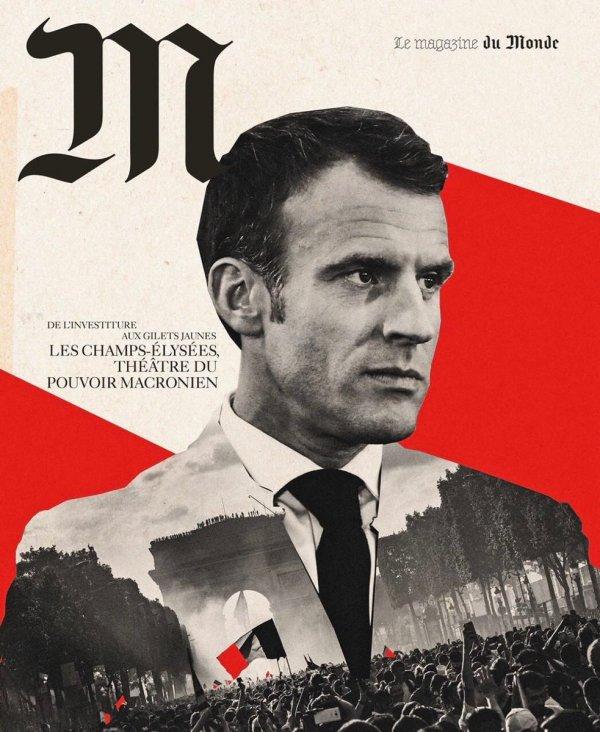 Macron, kendisine diktatör benzetmesi yapanları eleştirdi