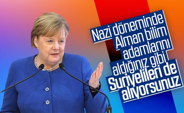 Merkel'den Türkiye için Nazi dönemi ve Suriye karşılaştırması