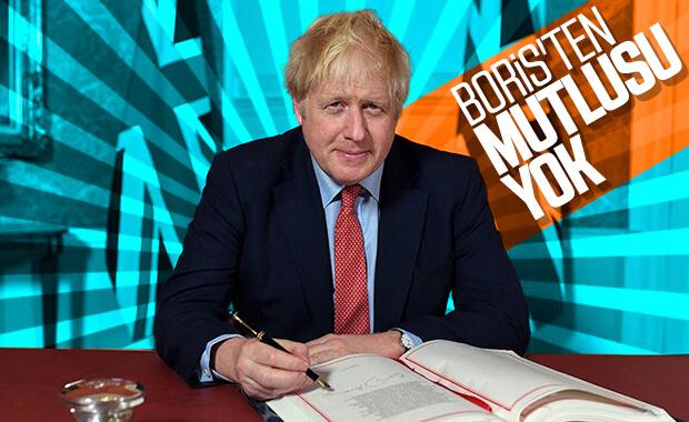 Boris Johnson Brexit Anlaşmasını imzaladı