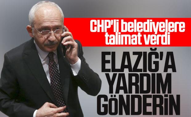 Kılıçdaroğlu, CHP'li belediyelere intikal talimatı verdi
