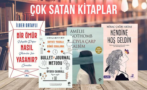 Çok satan kitaplar - 24 Ocak 2020