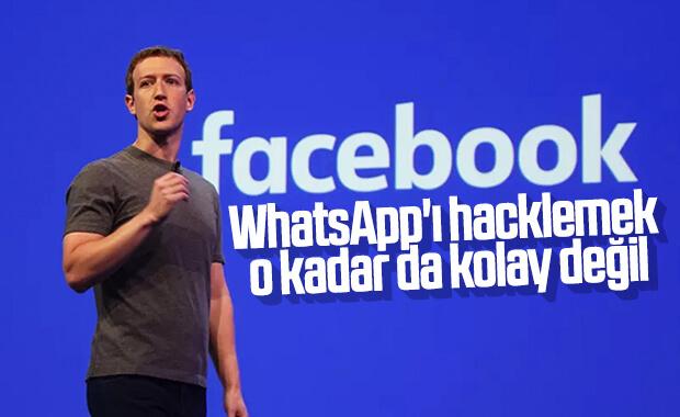 Facebook: Amazon'un kurucusunun WhatsApp'ını hacklemek imkansız