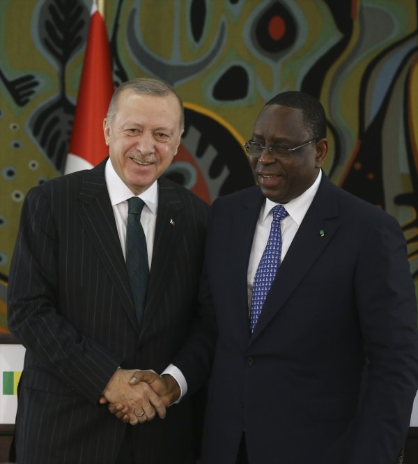 Erdoğan: Senegal'de hedef 1 milyar dolar ticaret hacmi