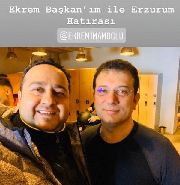 Ekrem İmamoğlu, Erzurum'a tatile gitti
