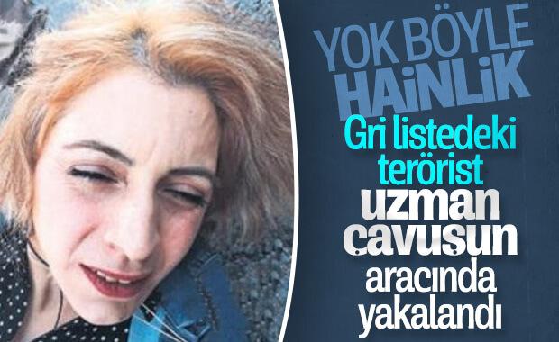 PKK'lı terörist, uzman çavuşun aracından çıktı