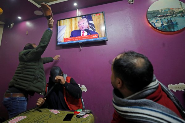 Trump'ı dinleyen Filistinliler çılgına döndü