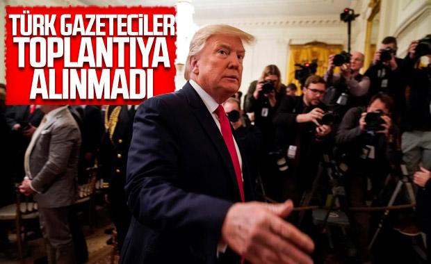 Trump - Netanyahu toplantısına Türk gazeteciler alınmadı