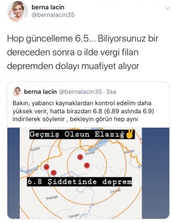 Berna Laçin'in reklam anlaşması iptal edildi