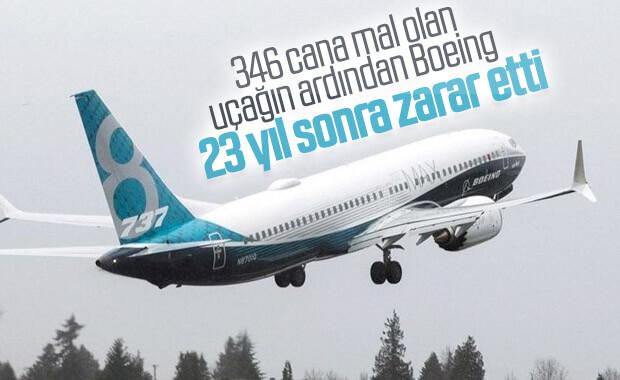 Boeing, 23 yıl sonra ilk kez zarar etti