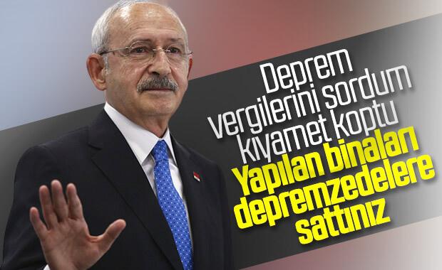 Kemal Kılıçdaroğlu Elazığ'da da deprem vergisini sordu