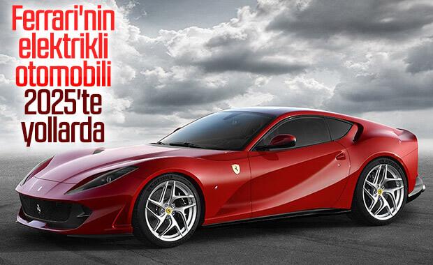 Ferrari'nin elektrikli aracına ait yeni patent görüntüleri