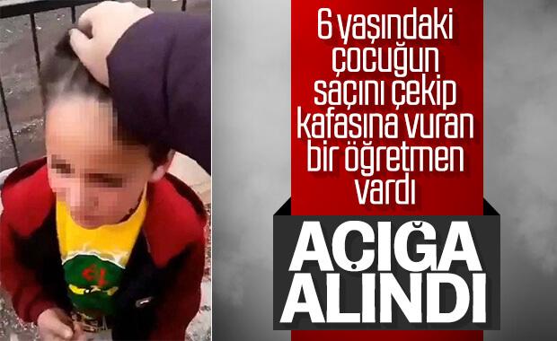 Siirt'te öğrencisine şiddet uygulayan kadın öğretmen