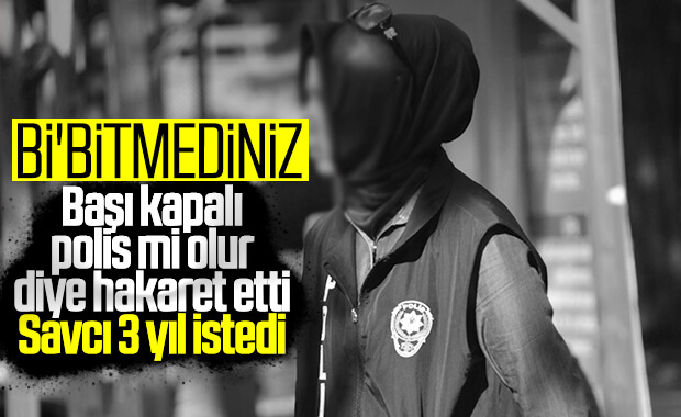 Trabzon'da başörtülü polise hakaret mahkemeye taşındı
