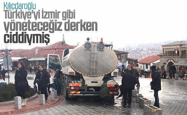 Ankara'da su kuyruğu