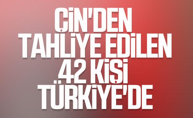 Vuhan'daki Türkler Ankara'da