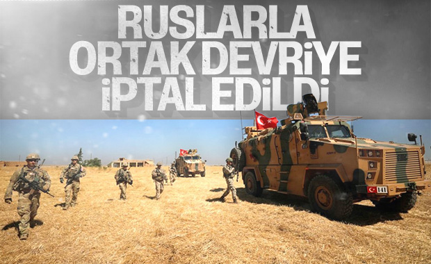 Türkiye, Rusya ile ortak devriyesini iptal etti