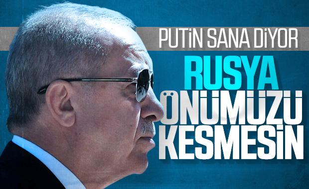 Cumhurbaşkanı Erdoğan'dan Rusya'ya net uyarı
