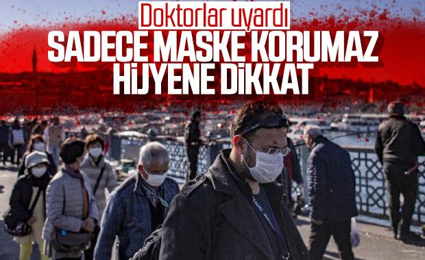Sağlık Bakanlığı uyardı: Sadece maske kullanmak yetmez