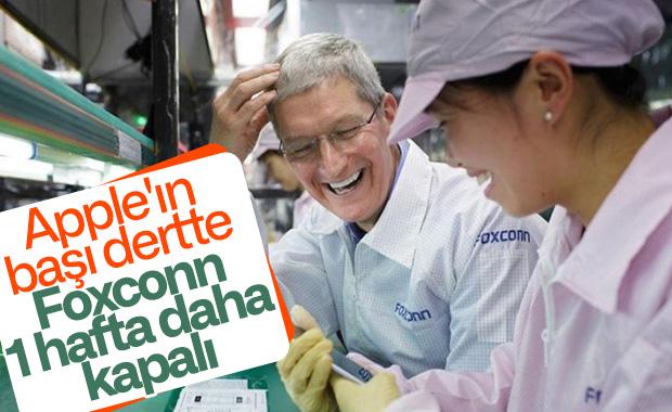iPhone üreticisi Foxconn, Çin'de bir hafta daha kapalı kalacak
