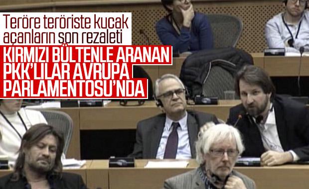 PKK, YPG/PYD yöneticileri Avrupa Parlamentosu'nda yer aldı