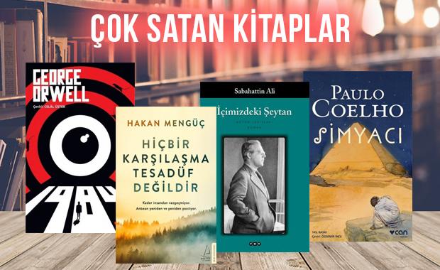 Çok satan kitaplar - 07 Şubat 2020
