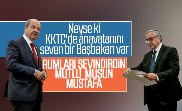 Ersin Tatar'dan Mustafa Akıncı'ya sert tepki