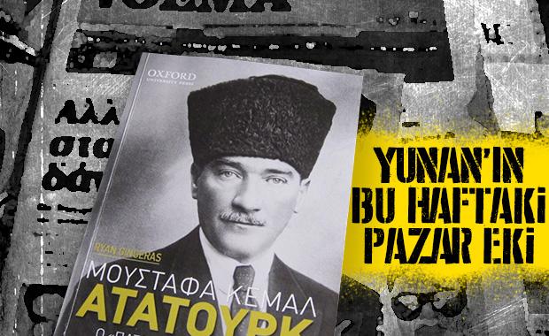 Yunan gazetesinden okuyucularına Atatürk kitabı