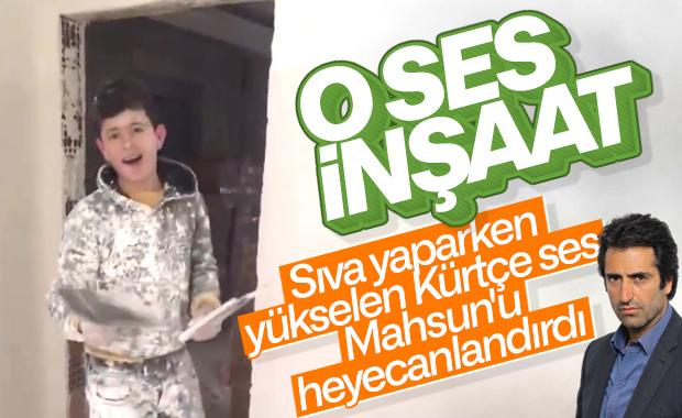 Zülfü Livaneli, inşaatta şarkı söyleyen çocuğu buldu