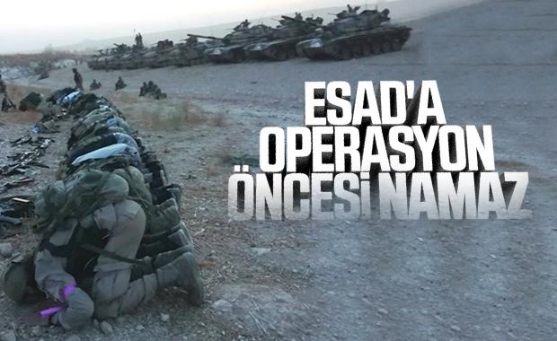 Suriye Milli Ordusu, Esad'a operasyon başlattı