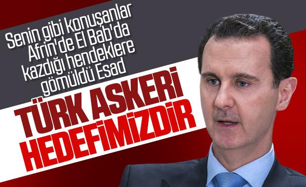 Esad: Türkiye'ye cevap vereceğiz