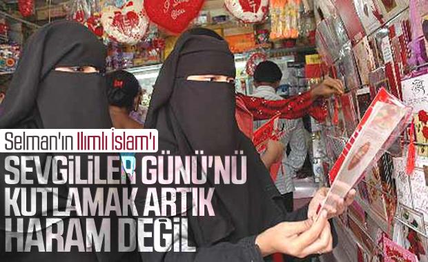 S. Arabistan'da Sevgililer Günü heyecanı