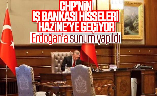 CHP'nin İş Bankası'ndaki hisseleri hazineye geçecek