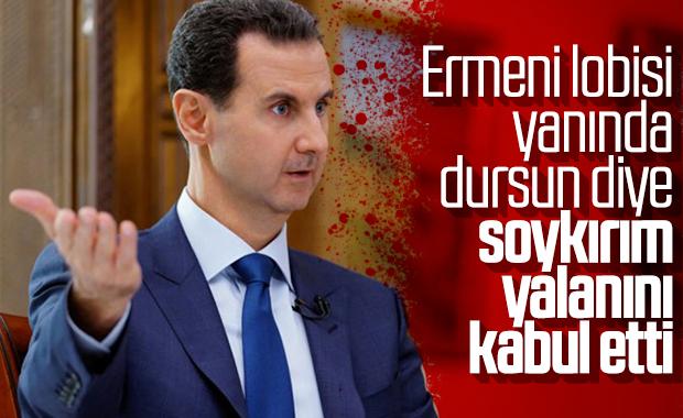 Esad'ın parlamentosu sözde soykırımı kabul etti