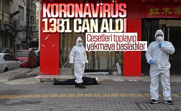 Koronavirüs salgınında can kaybı 1381'e yükseldi