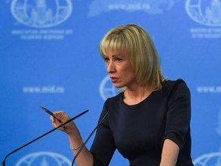 Rus Sözcü Zaharova'dan küstah açıklamalar