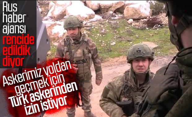 Rusya M4 karayolunu Türk askerinin izniyle kullanıyor