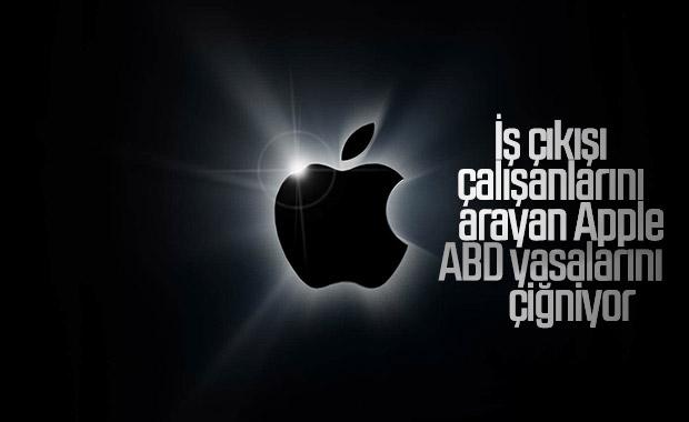 Apple, iş çıkışı çalışanlarını aradığı için mahkemelik oldu