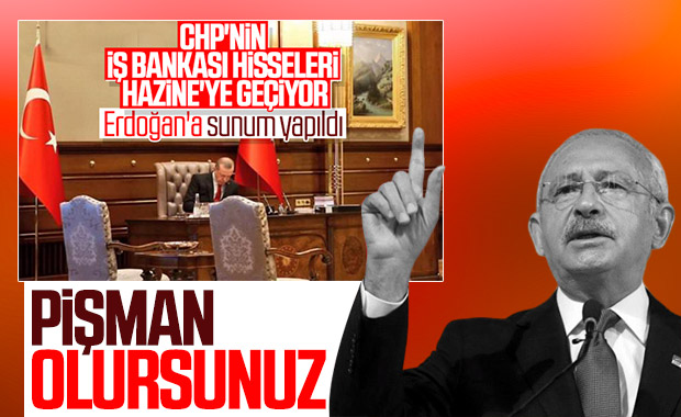 CHP'den İş Bankası açıklaması