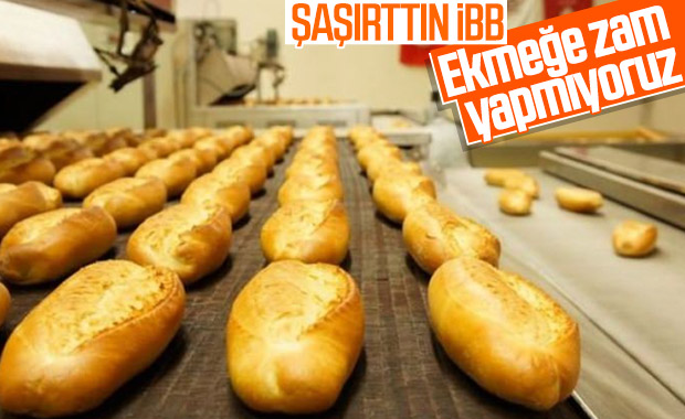 İBB'den Halk Ekmek'e zam yok açıklaması